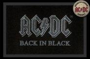 Fußmatte AC/DC Back in Black