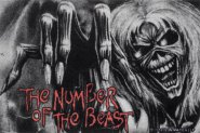 Fußmatte Iron Maiden Number of the Beast