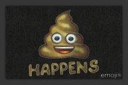 Fußmatte Emoji - Shit Happens
