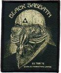 kleiner Aufnäher Black Sabbath Never Say Die