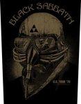 Rückenaufnäher Black Sabbath Never Say Die