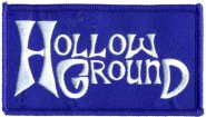 kleiner Aufnäher Hollow Ground Logo