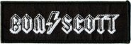 kleiner Aufnäher AC/DC Bon Scott