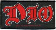 kleiner Aufnäher Dio Logo