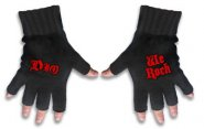 Handschuhe Dio Logo / We Rock