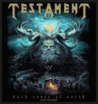 kleiner Aufnäher Testament Dark Roots of the Earth