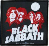 kleiner Aufnäher Black Sabbath Full Moon Band