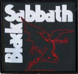 kleiner Aufnäher Black Sabbath Flying Demon