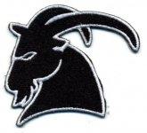 kleiner Aufnäher Capricorn Rockwear Logo