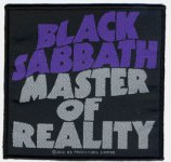 kleiner Aufnäher Black Sabbath Master of Reality