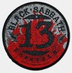 kleiner Aufnäher Black Sabbath 13