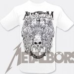 T-Shirt Alestorm Support Music Piracy