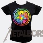 Girlie Shirt Mastodon Colour Theory