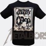 T-Shirt Black Sabbath World Tour 78 Poster