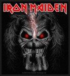 kleiner Aufnäher Iron Maiden Eddie Candle Finger