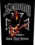 Rückenaufnäher Motörhead Lemmy, Stone Deaf