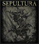 kleiner Aufnäher Sepultura The Mediator