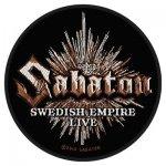 kleiner Aufnäher Sabaton Swedish Empire Live