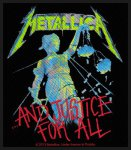 kleiner Aufnäher Metallica ....and Justice for all...