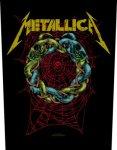 Rückenaufnäher Metallica Tangled Web