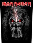Rückenaufnäher Iron Maiden Candlefinger