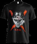 T-Shirt S.O.D. Scrawled Lightning
