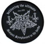 kleiner Aufnäher Dark Funeral Satanic Symphonies
