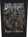 Rückenaufnäher Iced Earth Plagues of Babylon