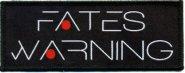 kleiner Aufnäher Fates Warning New Logo