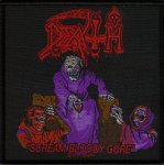 kleiner Aufnäher Death Scream bloody Gore UK