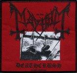 kleiner Aufnäher Mayhem Deathcrush