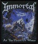 kleiner Aufnäher Immortal At the Heart of Winter