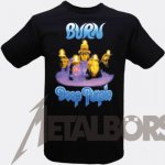 T-Shirt Deep Purple Burn