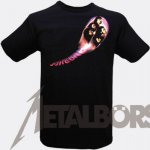 T-Shirt Deep Purple Fireball M