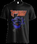 T-Shirt Thin Lizzy Black Rose