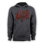 Kapuzenpulli Death Scream bloody Gore ( Vintage ) M
