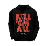 Kapuzenjacke Metallica Kill'em all Letters
