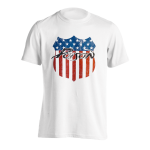 T-Shirt Poison American Badge