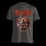 T-Shirt Kreator Pleasure to Kill ( grey )