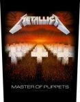 Rückenaufnäher Metallica Master of Puppets
