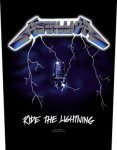 Rückenaufnäher Metallica Ride the Lightning