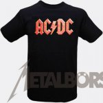 T-Shirt AC/DC Classic Logo L