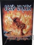 Rückenaufnäher Iced Earth Burnt Offerings
