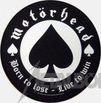Rückenaufnäher Motörhead Born to Lose