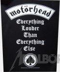 Rückenaufnäher Motörhead Everything louder ......