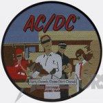 kleiner Aufnäher AC/DC Dirty Deeds