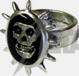 Ring Misfits Crimson Skull