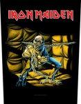 Rückenaufnäher Iron Maiden Piece of Mind