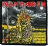 kleiner Aufnäher Iron Maiden First Album