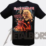 T-Shirt Iron Maiden Number of the Beast ( graphic ) L